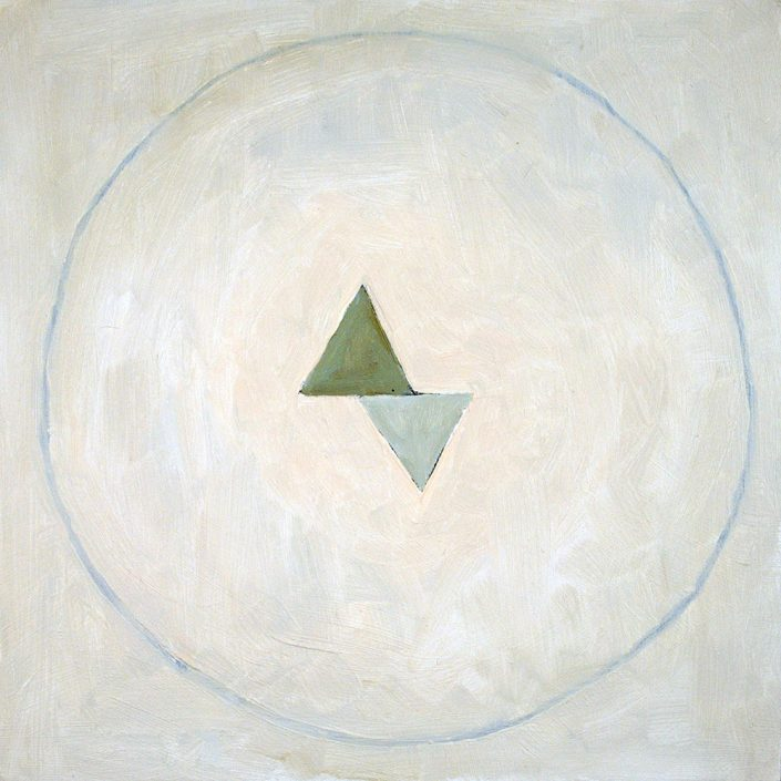 Pause II (Six Point Green for Hilma)(SOLD)