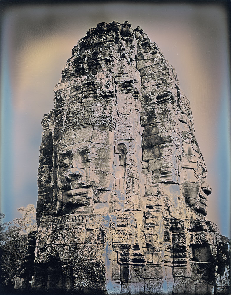 Binh Danh - Buddhas of Bayon #1, 2017, daguerreotype (exposed from an enlarger), 10 by 8 inches / 14.75 by 12.5 inches framed, edition of 3