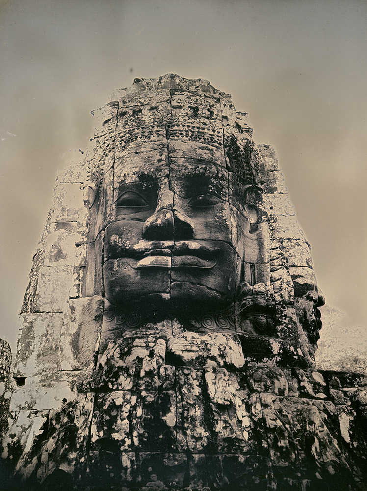 Binh Danh - Buddhas of Bayon #3, 2017, daguerreotype (exposed from an enlarger), 8 by 6 inches / 11.25 by 9.25 inches framed, edition of 3