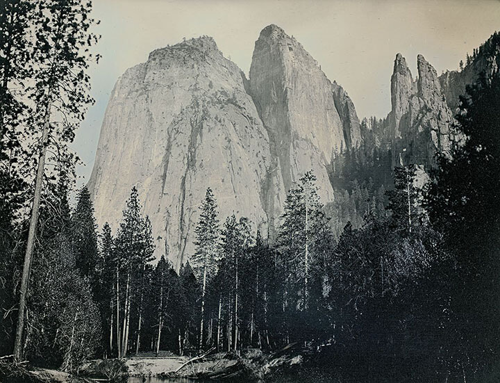 Binh Danh - Cathedral Rocks and Cathedral Spires, May 15, 2012 (SOLD), 2012, daguerreotype (in camera exposure), 6.5 by 8.5 inch plate, unique