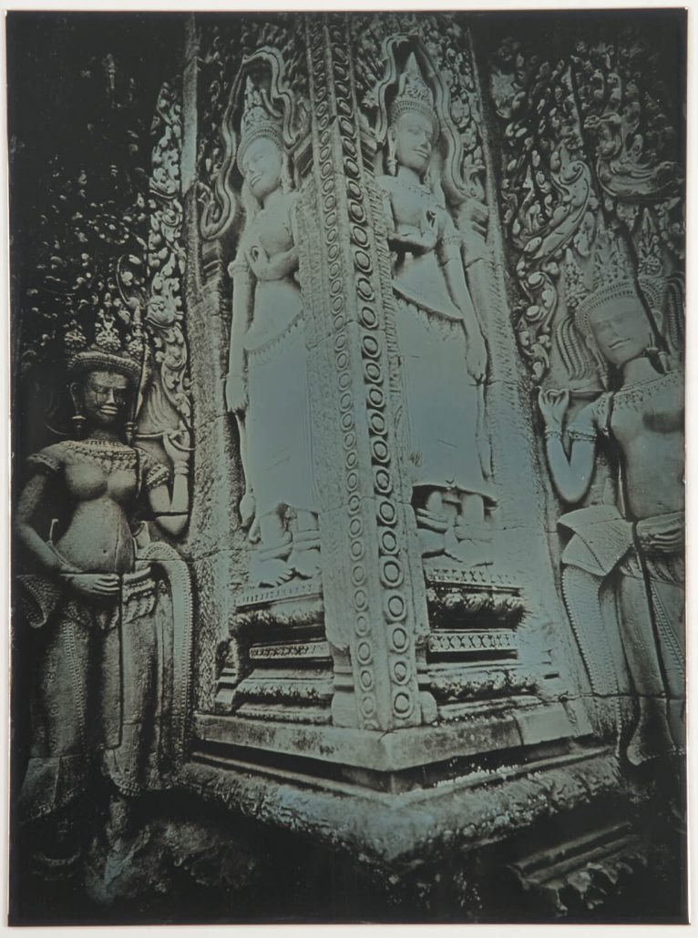 Binh Danh - Divinities of Angkor #1, 2008, daguerreotype, 11 by 9 inches framed