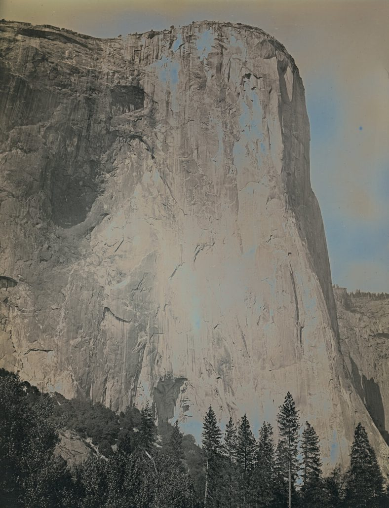 Binh Danh - El Capitan, Yosemite, CA, June 11, 2012 #3 (SOLD), 2012, daguerreotype (in camera exposure), 8.5 by 6.5 inch plate, 12.75 by 10.5 inches framed