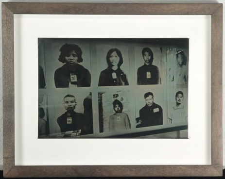 Portraits of Tuol Sleng Genocide Museum