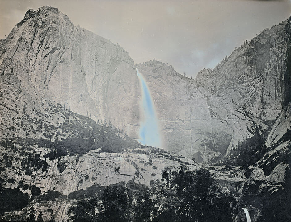 Binh Danh - Yosemite Falls, May 19, 2011 (SOLD), 2011, daguerreotype (in camera exposure), 6.5 by 8.5 inch plate