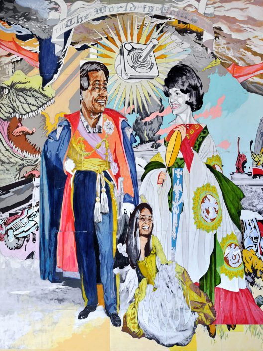 de la Jacqueline y el Cesar, la Gloria (of Jacqueline and Cesar, G-L-O-R-I-A) (SOLD)
