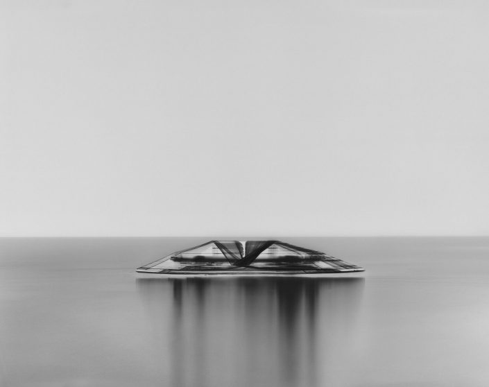 Damion Berger - M/Y Christina O (II), Ligurian Sea, 2013, pigment print on Baryta paper, Diasec mounted in artist's frame, 62.5 by 79 inches