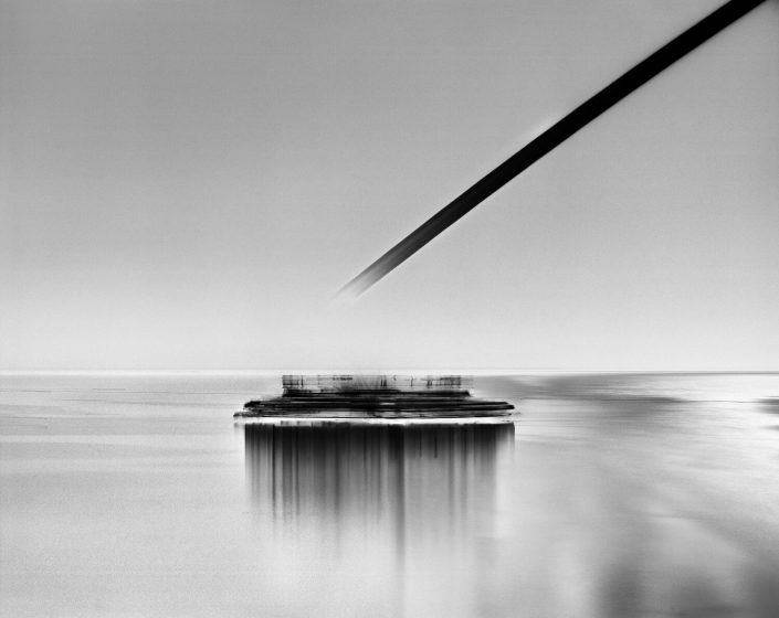 Damion Berger - M/Y Radiant, Ligurian Sea, 2012, pigment print on Baryta paper, Diasec mounted in artist's frame, 62.5 by 79 inches