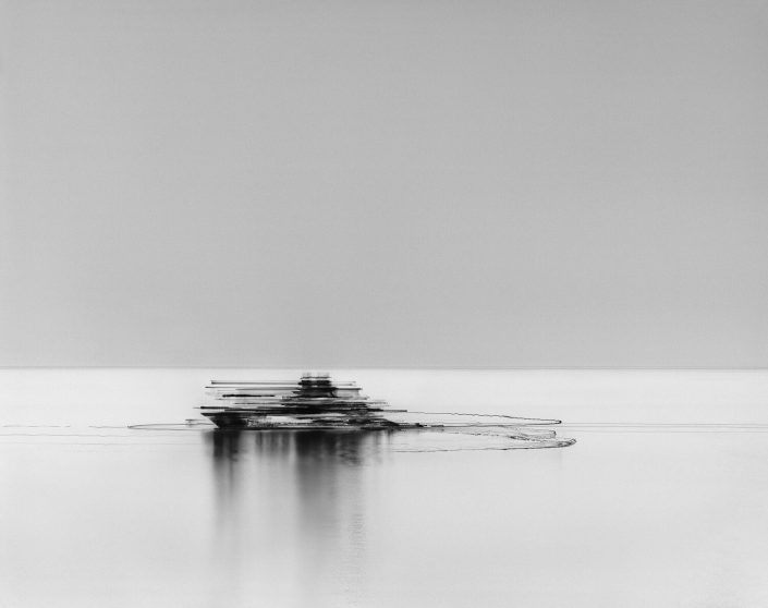 Damion Berger - M/Y Serene, Ligurian Sea, 2011, pigment print on Baryta paper, 24 by 30 inches