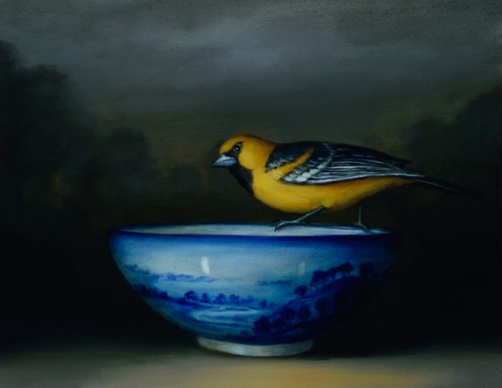 Oriole and Bowl