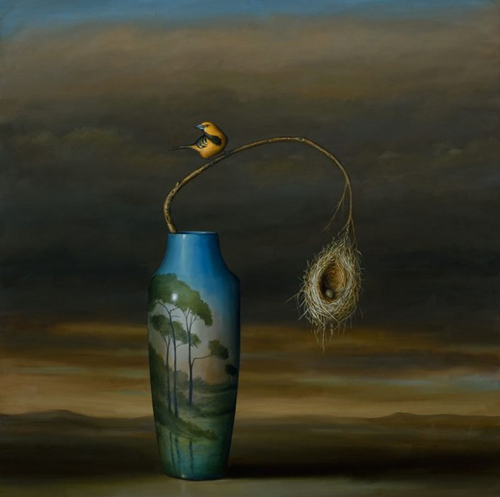 Vase and Nest (SOLD)