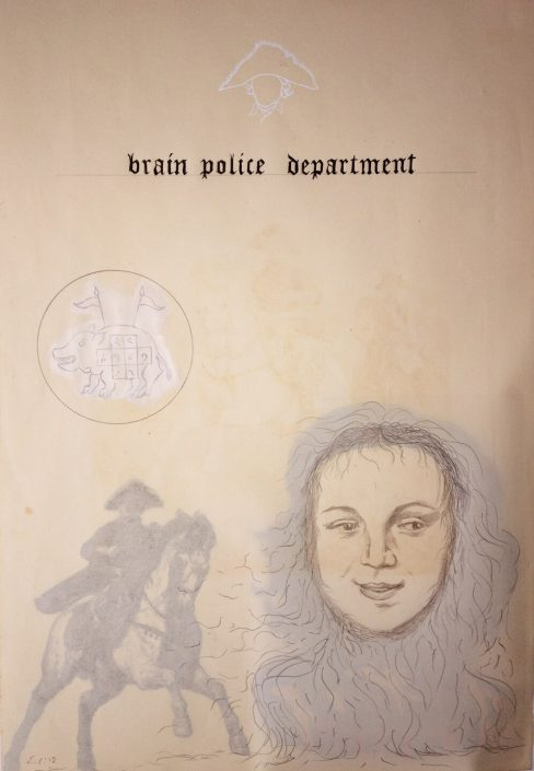 Ghostly Meditations (brain police department)