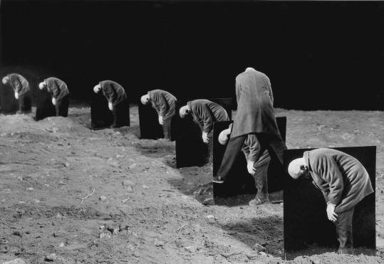 Gilbert Garcin - 105 -L'égoïste (The egoist), 1998, gelatin silver print, 8 by 12 inches, 12 by 16 inches, or 20 by 24 inches