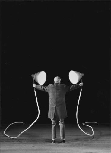 Gilbert Garcin - 181 -Le regard des autres (The scrutiny of others), 2001, gelatin silver print, 12 by 8 inches, 16 by 12 inches, or 24 x 20 inches