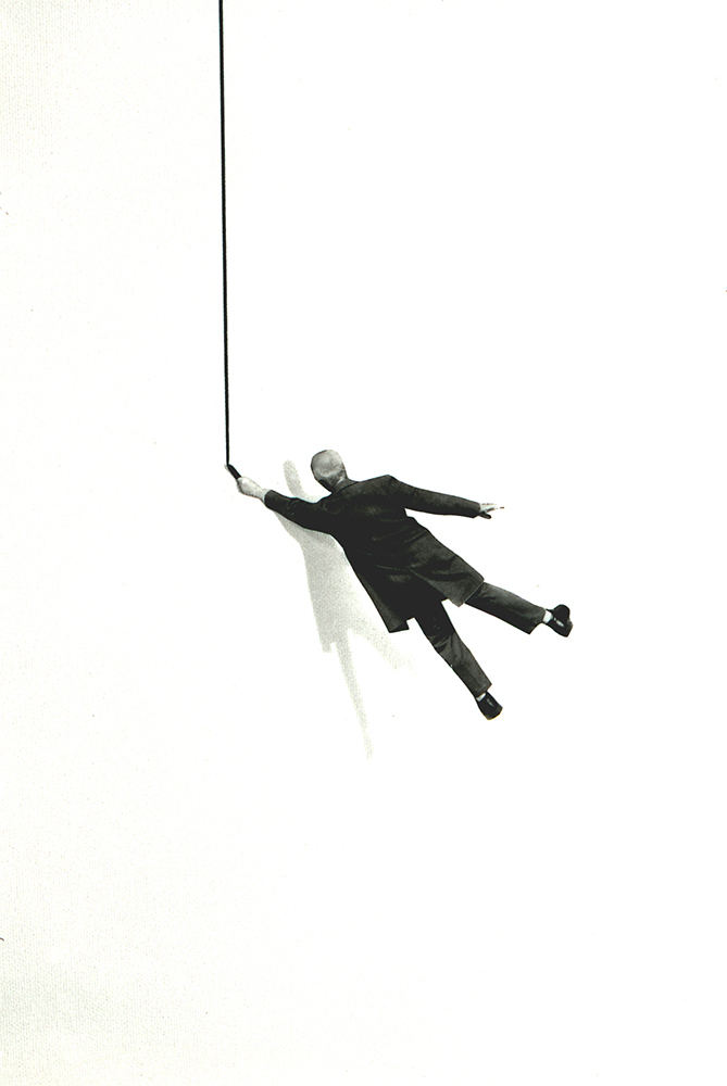 Gilbert Garcin - 345 - La vie d'artiste (The life of an artist), 2007, gelatin silver print, 12 by 8 inches, 16 by 12 inches, or 24 by 20 inches