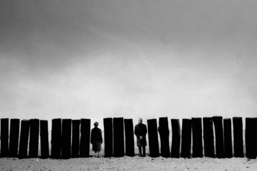 Gilbert Garcin - 369 - Se rendre utile (Making oneself useful), 2008, gelatin silver print,8 by 12 inches, 12 by 16 inches, or 20 by 24 inches