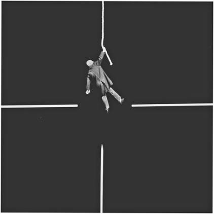 Gilbert Garcin - 401 - Au centre (At the center), 2009, gelatin silver print,8 by 12 inches, 12 by 16 inches, or 20 by 24 inches