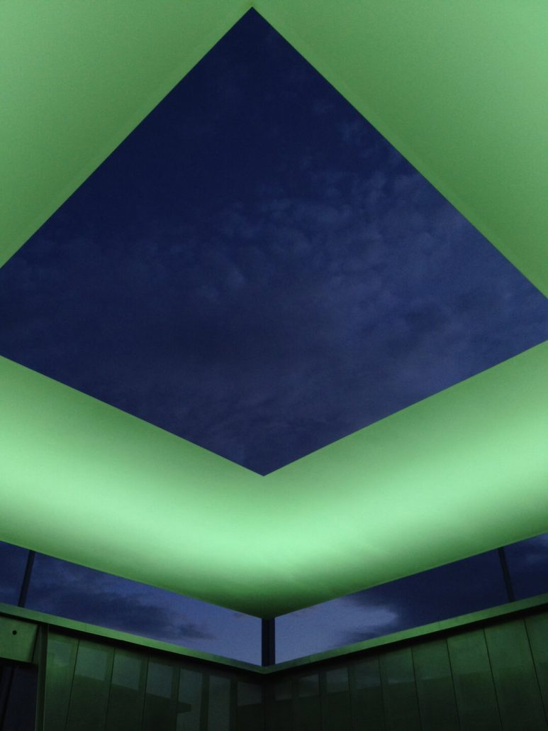 James Turrell - Air Apparent (detail), 2012, 30 by 30 by 30 feet, Tempe, Arizona