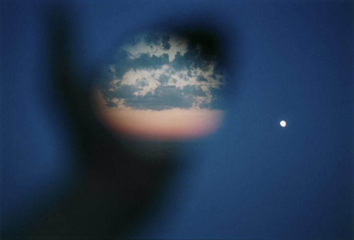 Julianne Swartz - Placement (Two Moons), 2007, c-print, 14.5 by 21.5 inches
