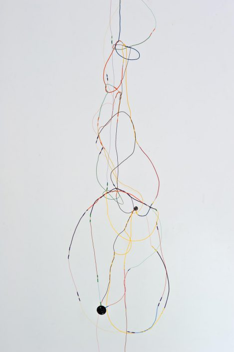 Sound Drawing (Vertical Fall) (detail)
