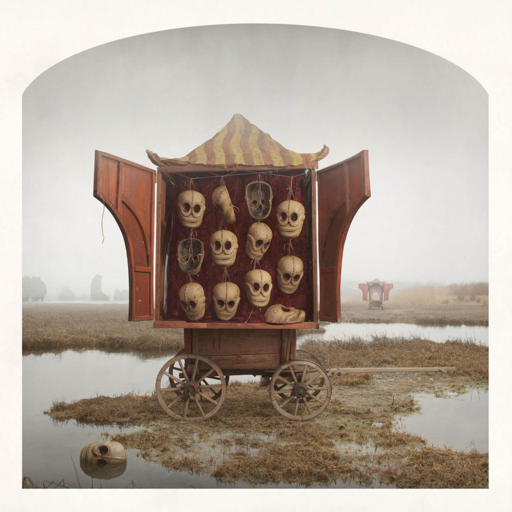 Kahn/Selesnick - Abandoned Carts, 2013, archival digital print, 10 by 10 inches, 24 by 24 inches, or 30 by 30 inches