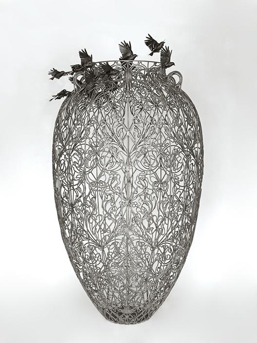 Kim Cridler - Storage Jar (pithos), 2020, 70 x 36 x 36 inches