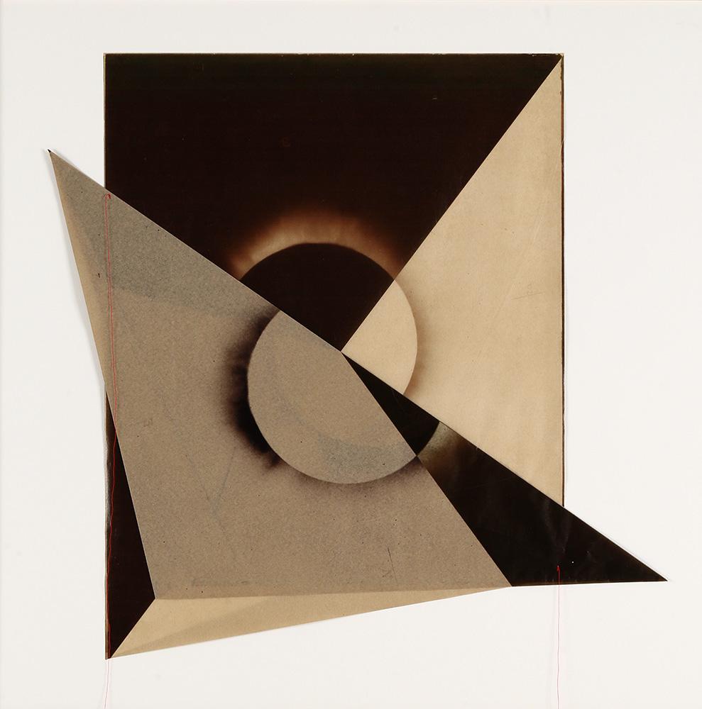 Luis González Palma - El Sol 10, 2017, digital printing on onion paper, collage, 35.25 x 31.25 framed, edition of 5
