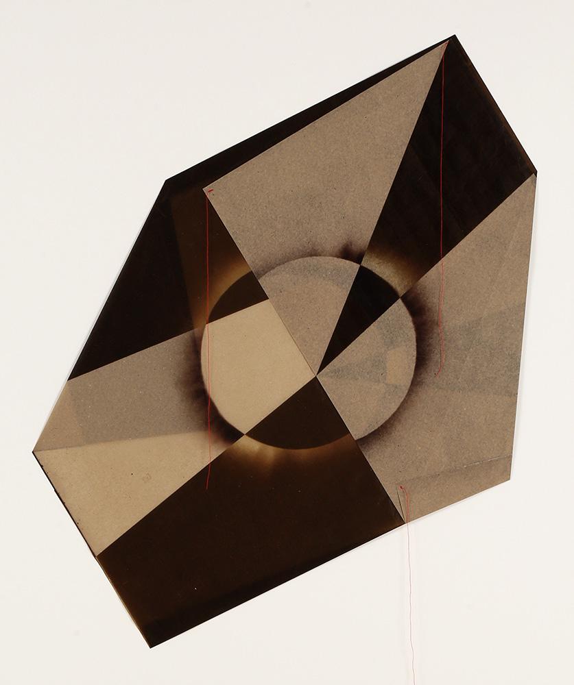 Luis González Palma - El Sol 8, 2017, digital printing on onion paper, collage, 35.25 x 31.25 framed, edition of 5