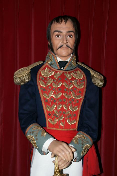 Portrait of Bolivar and apocryphal letter / Retrato de Bolivar y carta opocrifa