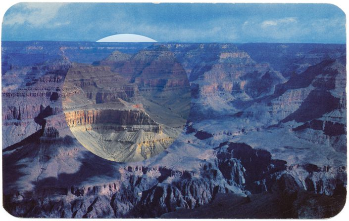 (Mark Klett with Byron Wolfe) Blue Hopi Point