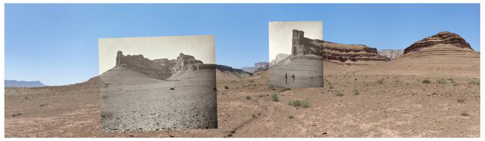 (Mark Klett with Byron Wolfe) Buttes of the Moenkopi Formation near Lee's Ferry, Arizona