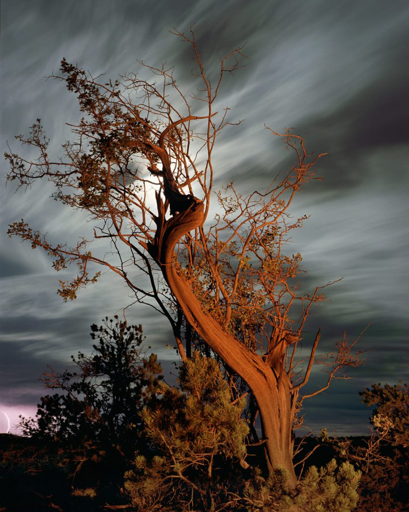 Mark Klett - Light of the Last Campfire Cedar Mesa, 2000, pigment inkjet print, 30 by 40 inches