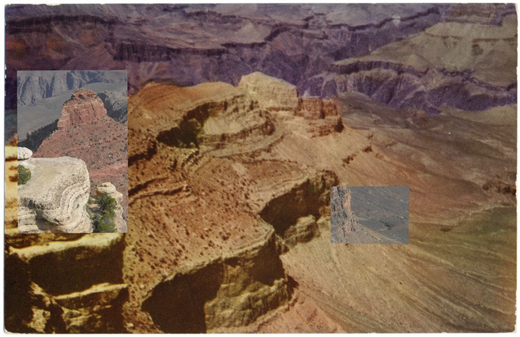 Mark Klett with Byron Wolfe - Yaki Point 1, 2010, pigment inkjet print, 3.5 by 5.5 inches
