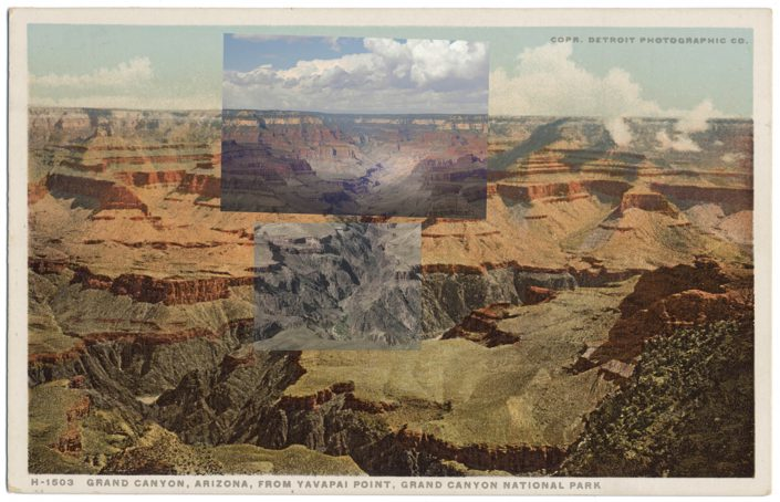 Mark Klett with Byron Wolfe - Yavapai A, 2010, pigment inkjet print, 3.5 by 5.5 inches