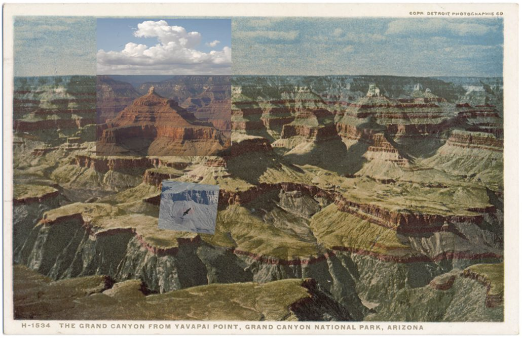 Mark Klett with Byron Wolfe - Yavapai H, 2010, pigment inkjet print, 3.5 by 5.5 inches