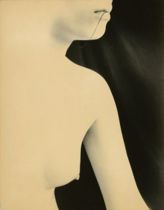 Masao Yamamoto - 960, n.d., gelatin silver print with mixed media, 5 by 4 inches
