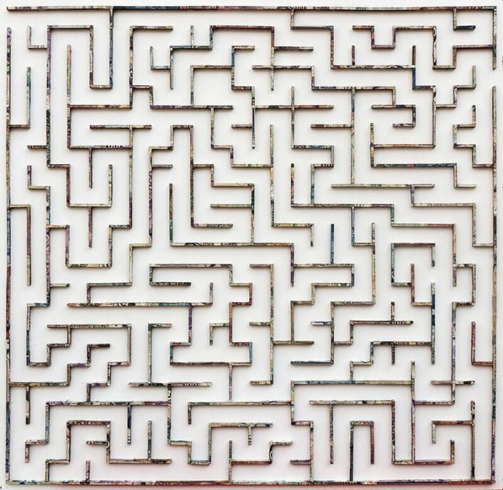 Le Grand Voyage / Labyrinth (SOLD)