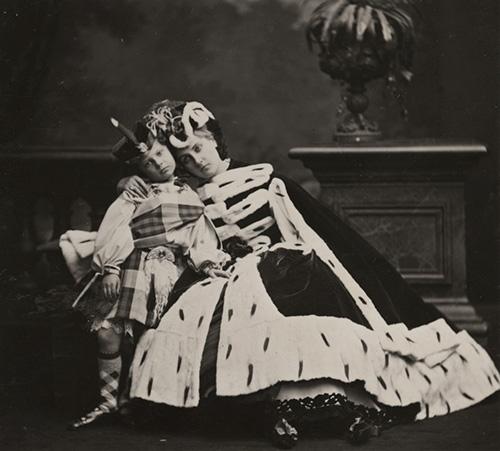Pierre Louis Pierson, Countess de Castiglione and Her Son