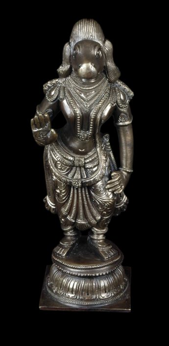 Siri Devi Khandavilli - Figure 6, 2015, cast bronze, 7.25 by 2.25 by 4.5 inches, unique