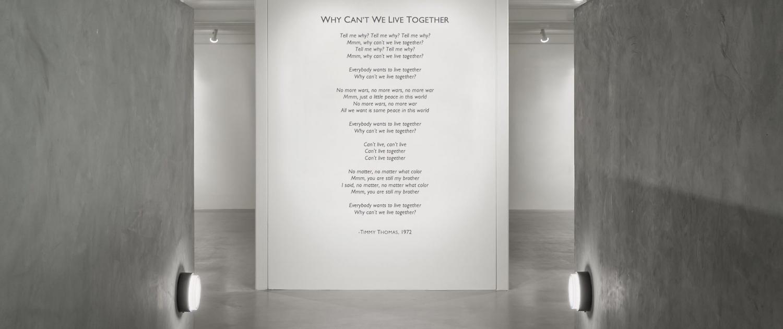Tell me why tell me why tell me why why cant we live together