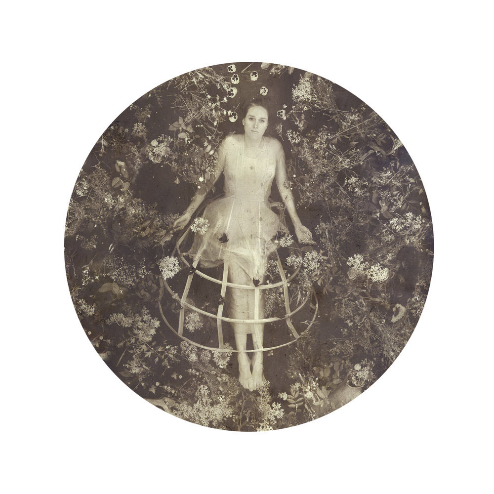 Kahn/Selesnick - Alexis, 2017, archival inkjet print, 10 inch diameter (22 by 17 inch paper size), edition of 5