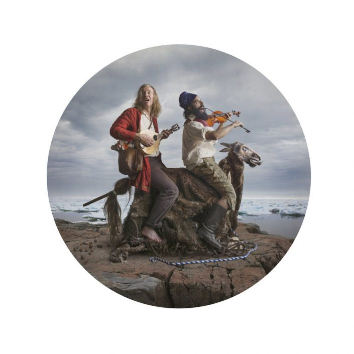 Kahn/Selesnick - Fools, 2017, archival inkjet print, 10 inch diameter (22 by 17 inch paper size), edition of 5