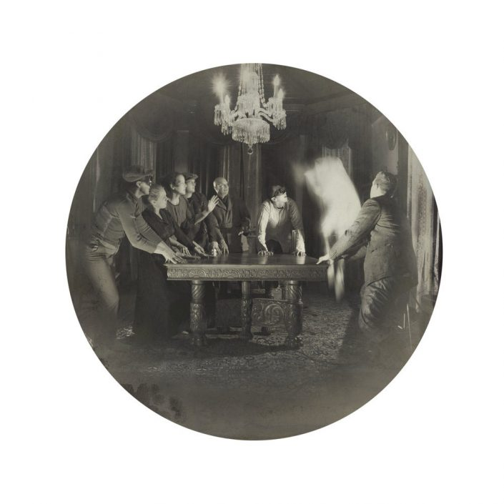 Kahn/Selesnick - Seance, 2017, archival inkjet print, 10 inch diameter (22 by 17 inch paper size), edition of 5