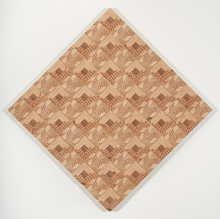 Log Cabin Checkers Board