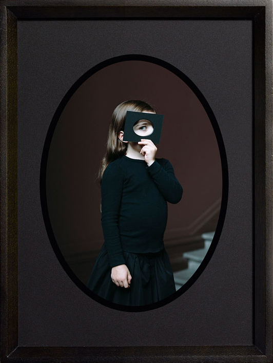 Bettina von Zwehl - Scherzo di follia III, 2015, chromogenic dye print, 5.25 by 3.75 inches, 7.5 by 5.5 inches framed
