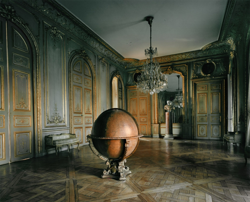 Michael Eastman - Globe, Paris2010, photograph, available in three sizes: 37 by 46 inches, 48 by 60 inches, and 72 by 96 inches