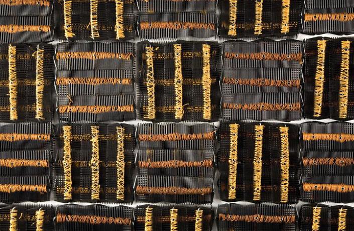 Plain Weave (detail) (SOLD)