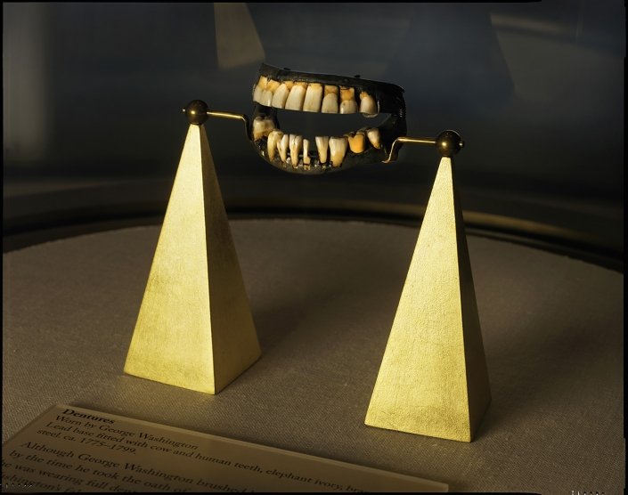 Rob Kinmonth - George Washington's Dentures, Mount Vernon, Virginia