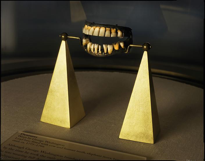 Rob Kinmonth - George Washington's Dentures, Mount Vernon, Virginia