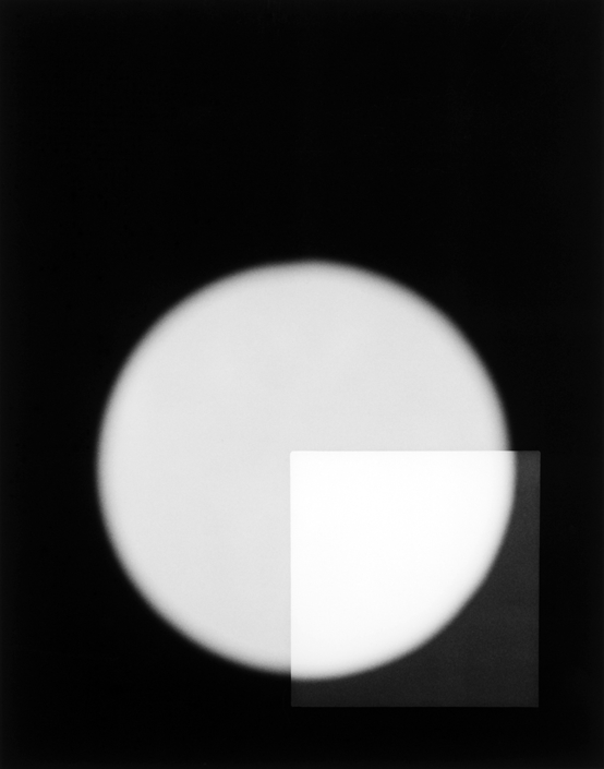 Philip Augustin - Negative #18-006-14 with photogram, 2018, gelatin silver print, 7 by 5.5 inches, edition of 3