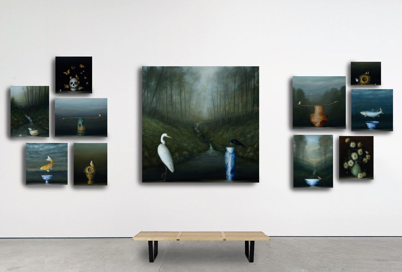 David Kroll - Fragile Nature header - mockup installation